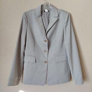 J crew 100% Wool Blazer 8 Gray Japan